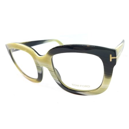 81598b5cde809 TOM FORD TF5315 EYEGLASSES COLOR 062 SHINY GREEN HORN SIZE 53MM -  Walmart.com