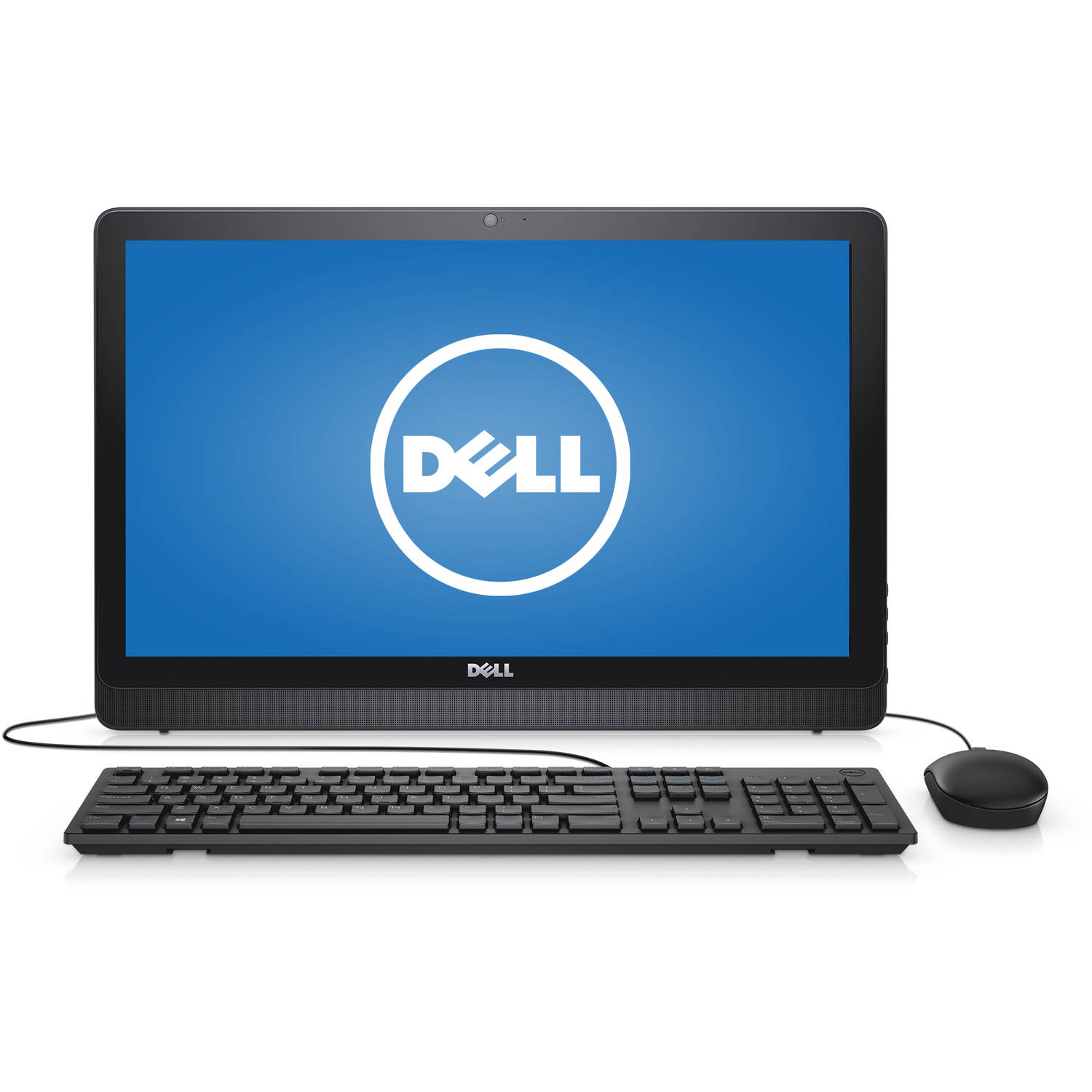 "Dell - Inspiron 21.5"" All-in-One Desktop - AMD A6 - 4GB Memory -1TB HD - Black"