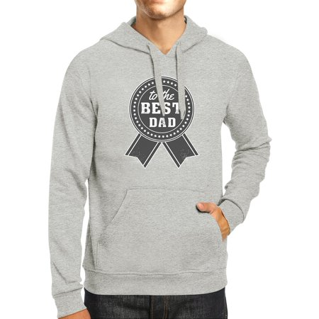 365 Printing To The Best Dad Grey Hoodie For Men Perfect Dad Birthday Gift