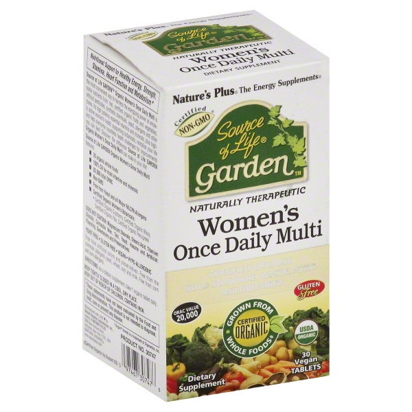 Source of Life Garden Organic Womens Daily Nature's Plus 30 Tabs