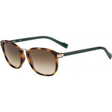 BOSS Orange BO0178-S-K9Y-JD-52 BO 0178-S K9Y JD Havana Green Sunglasses Orange Havana Sunglasses