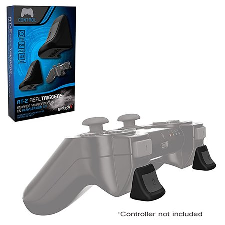 2-Pack Gioteck Dual L / R Non-Slip Real Triggers For Sony PlayStation 3