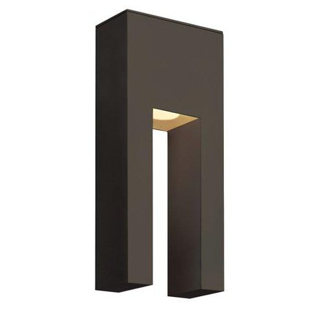 Hinkley 1642BZ-LED Atlantis - LED Outdoor Wall Mount, Bronze Finish with Tempered Glass [Bronze] ()