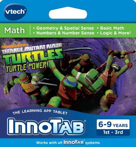 VTech InnoTab Software, Teenage Mutant Ninja Turtles by V Tech