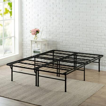 Spa Sensations Steel Smart Base Bed Frame Black, Multiple Sizes ...