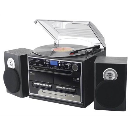 3-Speed Turntable with CD and MP3 Player by