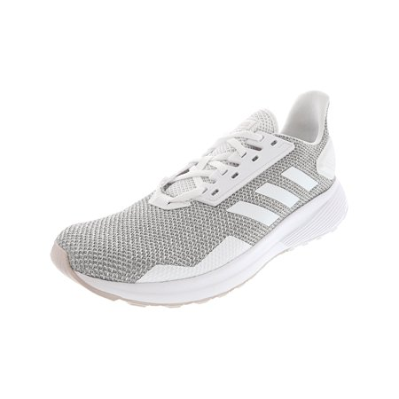 Adidas Women's Duramo 9 Ice Purple / Footwear White Light Granite Ankle-High Running Shoe -