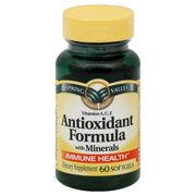 Spring Valley Antioxidant Formula with Minerals Softgels, 60 Ct