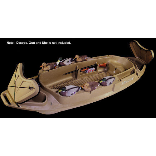 400083 Beavertail 1200 Stealth Series Marsh Brown Bird   Duck Hunting Boat by Beavertail