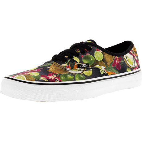 Authentic Lime In The Coconut Low Top Canvas Skateboarding Shoe