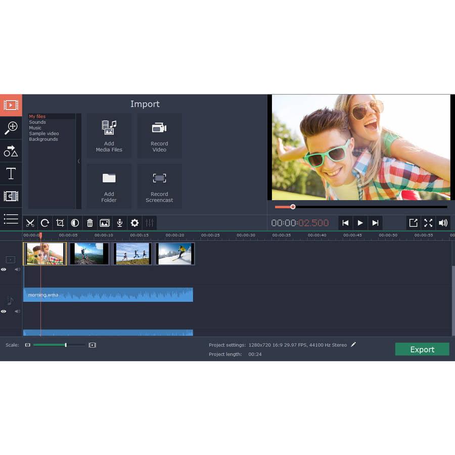 Golden Software MVE12PE-ESD Movavi Video Editor 12 Personal ESD (Digital Code)