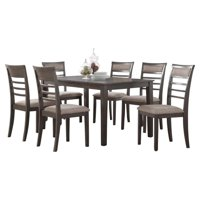 Glendale Traditional Brown 7 Piece Dining Set