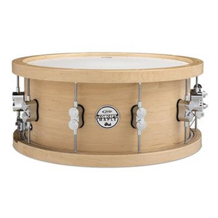 Pacific Concert Series Wood Hoop Maple Snare w/ 20-Ply Maple Shell - 6.5
