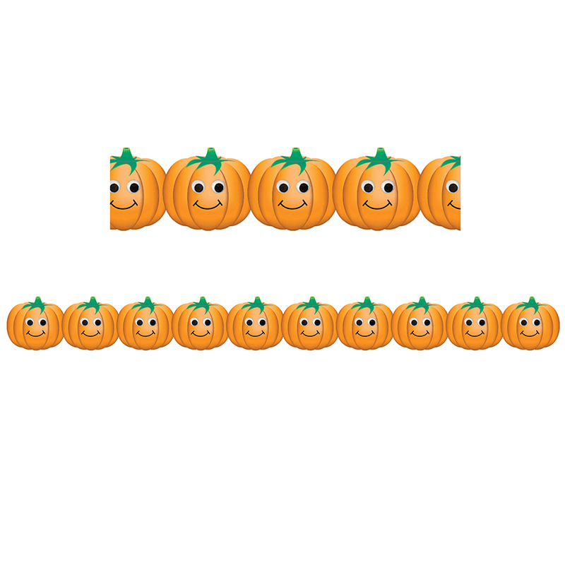 HAPPY PUMPKINS BORDER