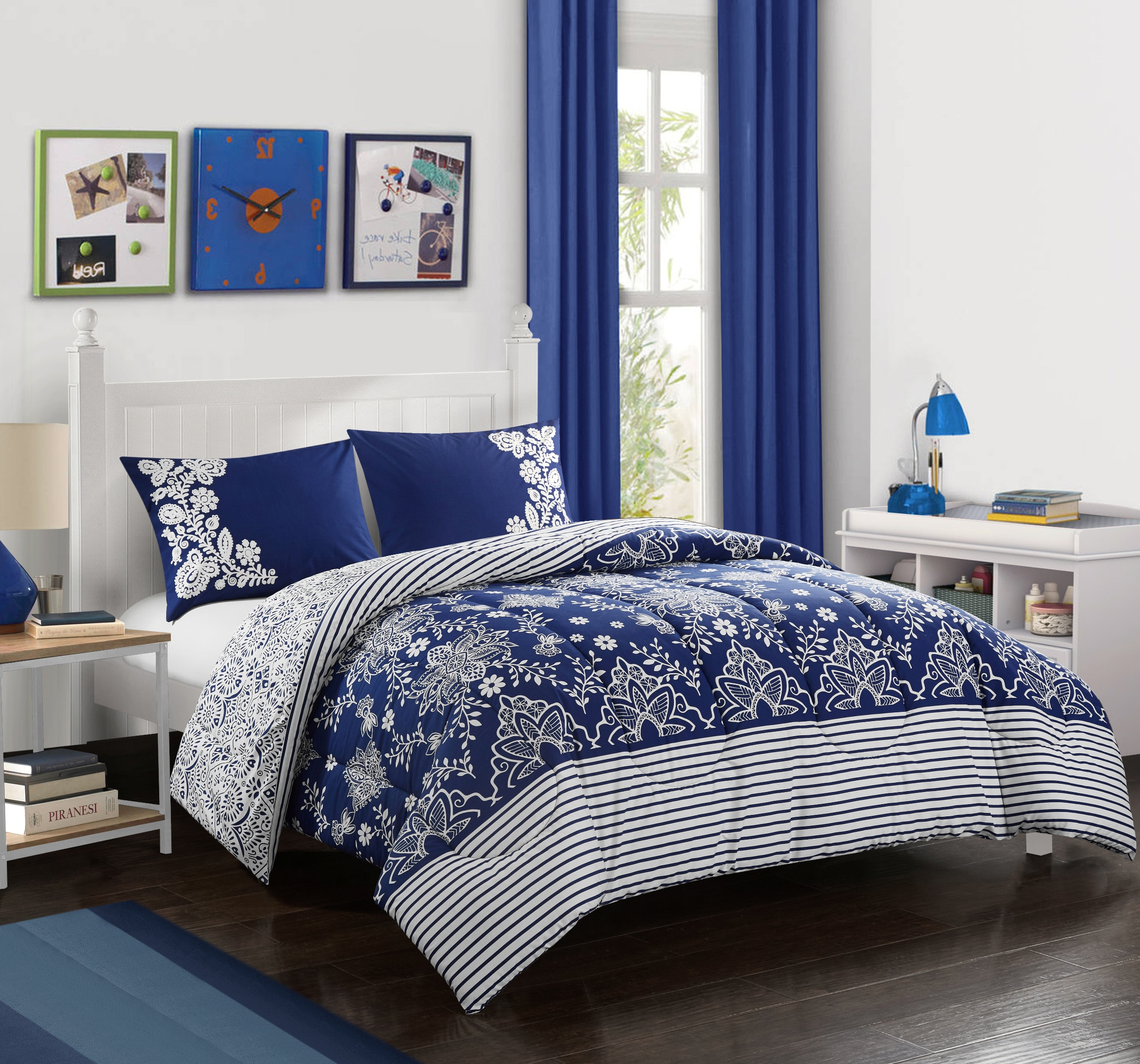 Better Homes & Gardens Flowing Floral Comforter Set