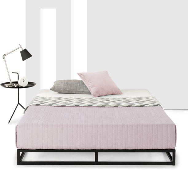 Best Mattress 6 Inch Platform, Solid Platform Bed Frame For Memory Foam Mattress