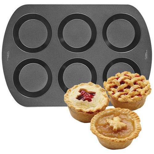 Wilton 6-Cavity Mini Pie Pan 2105-0486