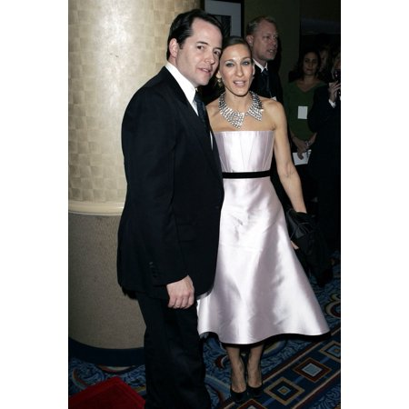 Matthew Broderick And Sarah Jessica Parker At The After-Party For The Odd Couple Opening Night The Marriott Marquis Hotel New York Ny October 27 2005 Photo By Mat SzwajkosEverett Collection Celebrity