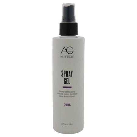 Spray, Gel, Thermal Setting Spray, By Ag Hair Cosmetics - 8 Oz Hair Spray ()
