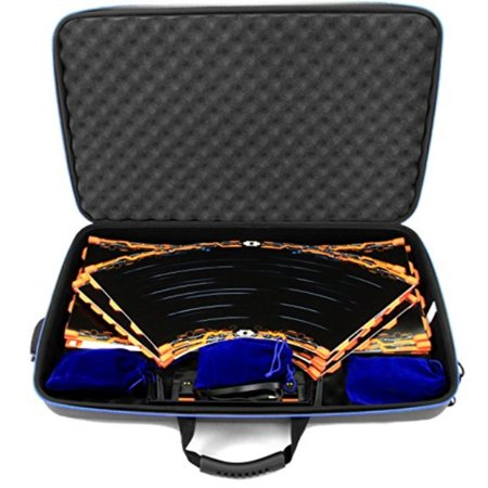 CASEMATIX GARAGE Box Case To Carry Anki Overdrive Starter Kit Tracks or Fast and Furious Edition and Expansion Tracks 16