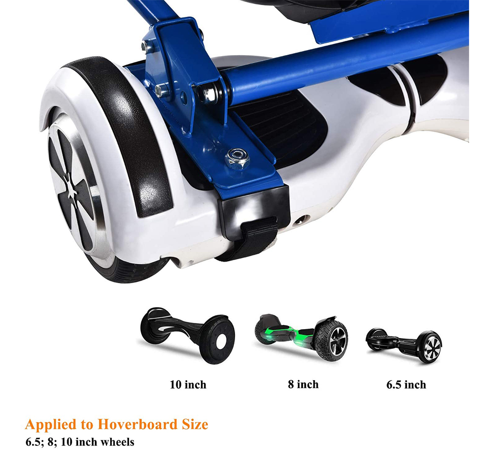 mayceyee Hoverboard Seat Attachment for 6.5,8 /&10 Hoverboard,Kids/&Adult Hoverboard Attachment,Length Adjustable Hoverboard Accessories,Soft Handle Bar,Comfortable Seat