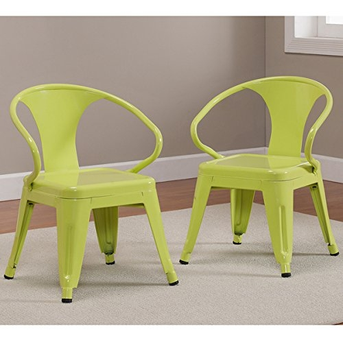 Superbe Kids Tabouret Stacking Chairs Nonmar Foot Glides, Durable Steel  Construction Stackable Chair Set Of 2