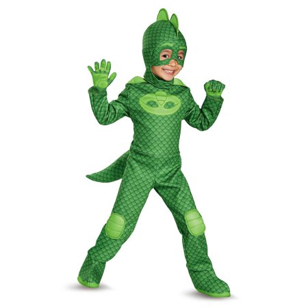 Disguise Gekko Deluxe PJ Masks Child Costume (Size 7-8)