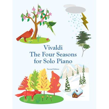 Vivaldi the Four Seasons for Solo Piano (Paperback)