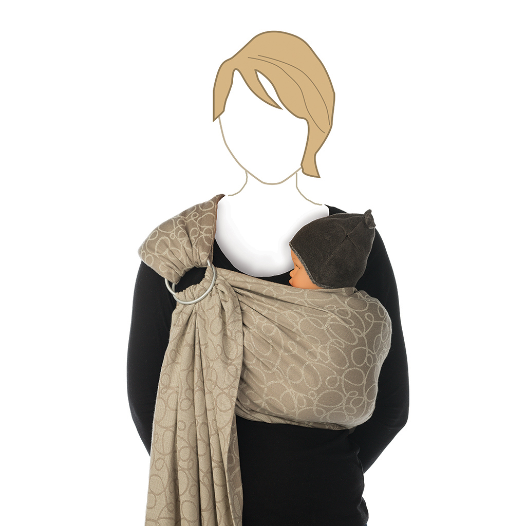 Babylonia Baby Carrier - BB Sling Champagne