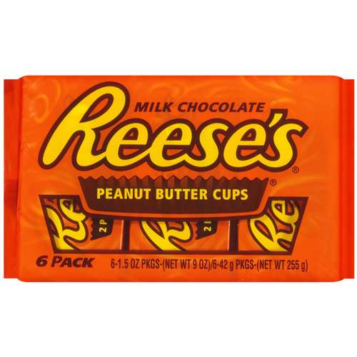 Reese's 6 Pack Chocolate, 9 Oz