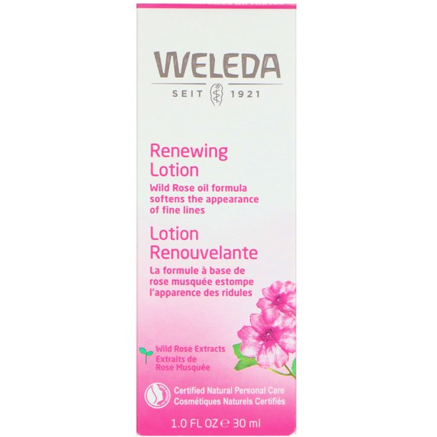 Weleda Wild Rose, Smoothing Facial Lotion, 1.0 fl oz (30 ml)
