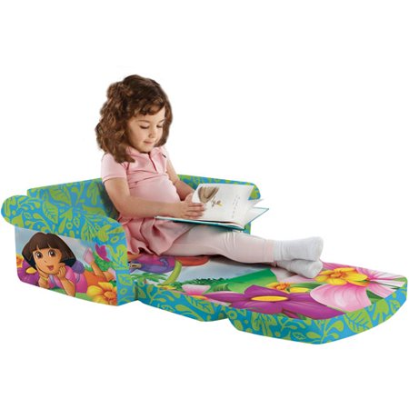 Marshmallow Dora the Explorer Flip Open Sofa