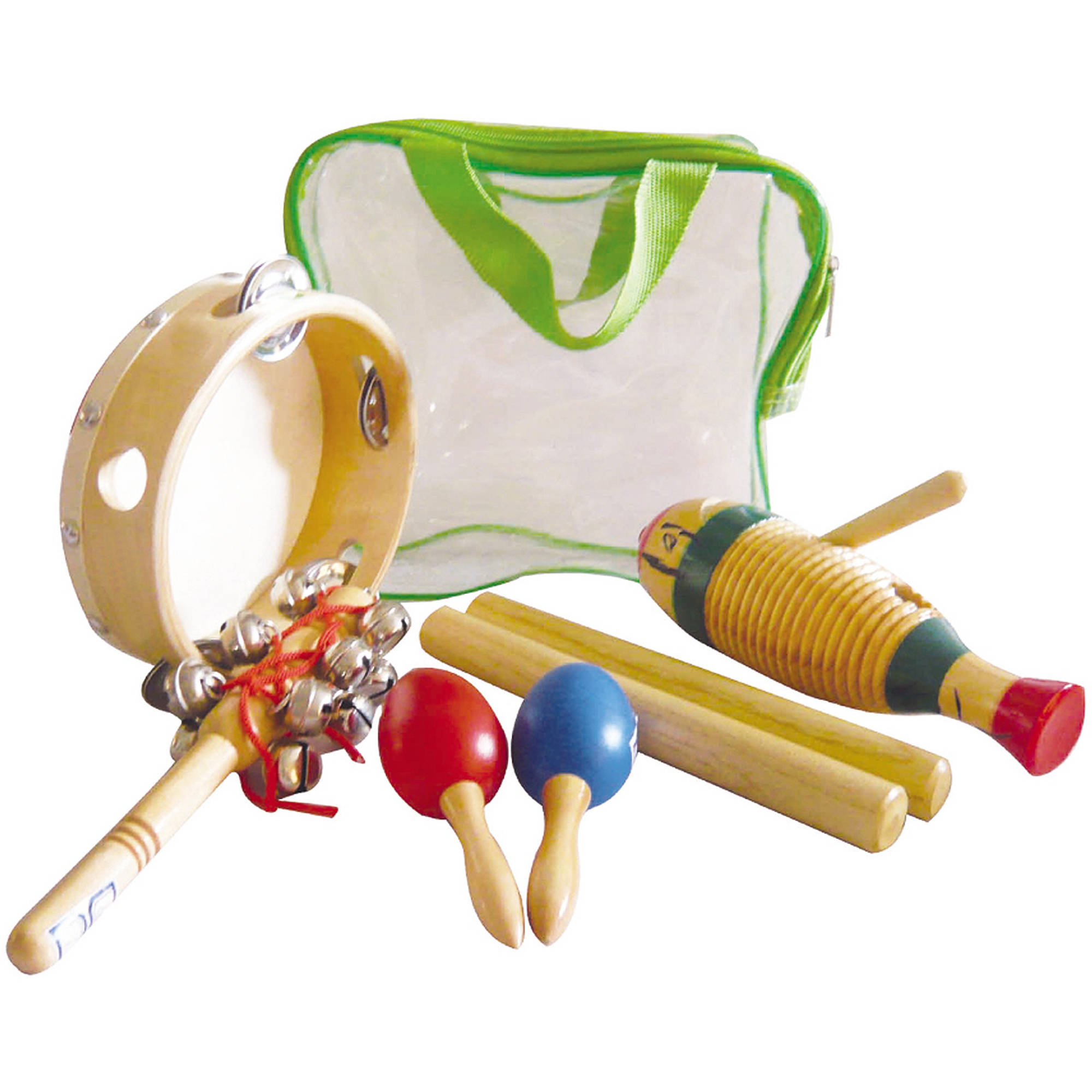 GP Percussion GPPK5G 5-Piece Percussion Pack with Bag