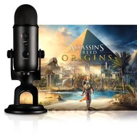 Blue Microphones Blackout Yeti With Assassin's Creed Origins Streamer Bundle