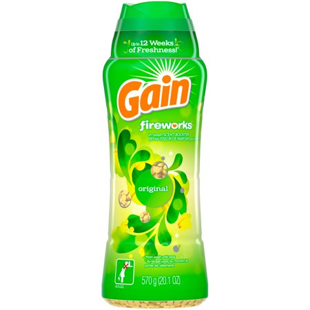 Gain Fireworks In-Wash Scent Booster Beads, Original, 20.1 oz