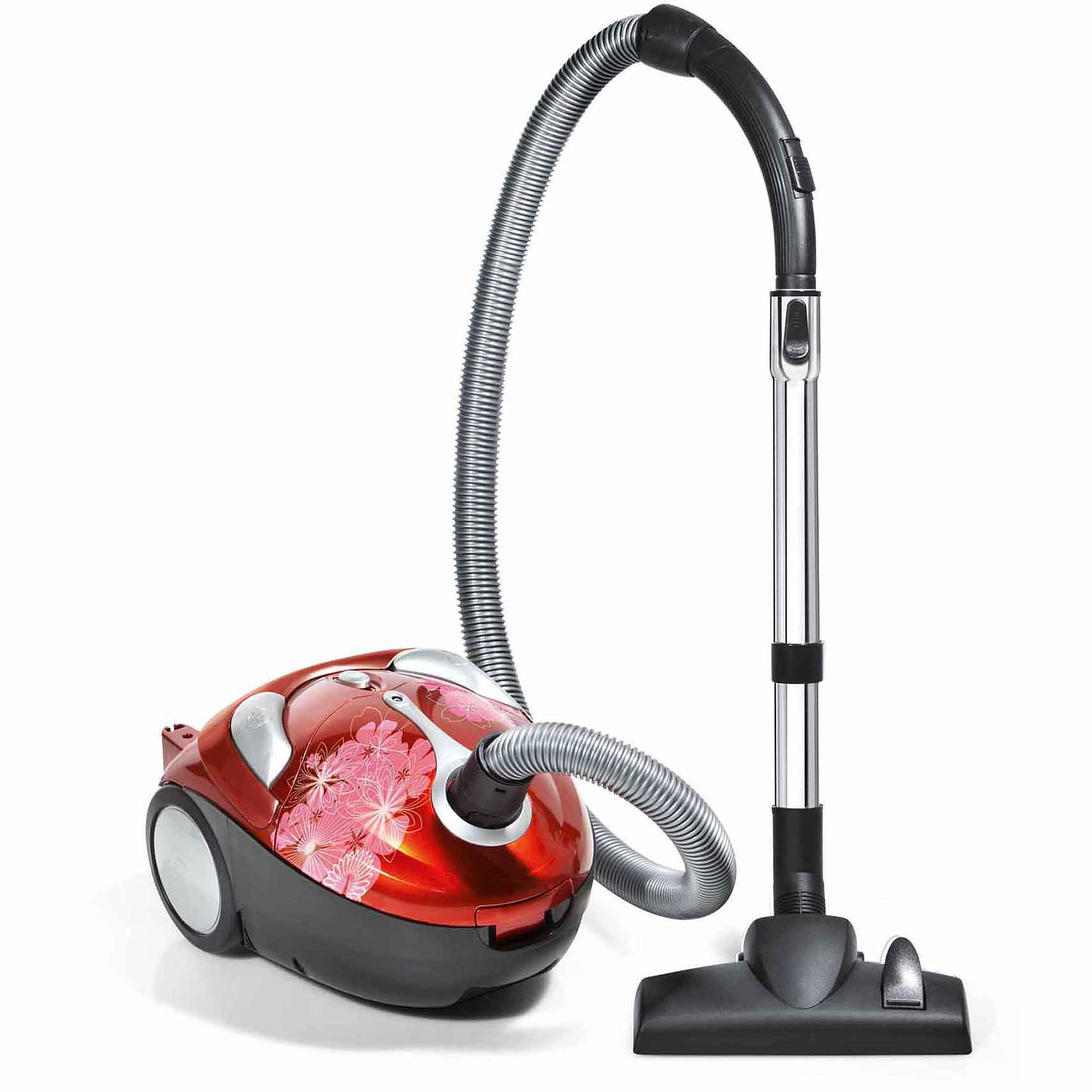 Crimson Bouquet Bagged Canister Vacuum