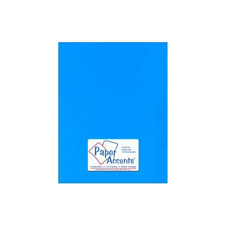 - Lite Stock 8.5x11 60lb Text 25pc Blue