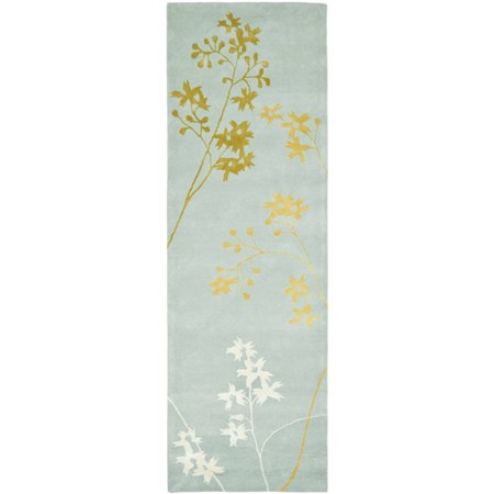 Safavieh Soho Emerald Floral Wool Area Rug or Runner