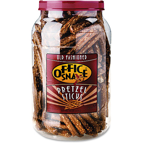 Office Snax Pretzel Assortment, 22 oz