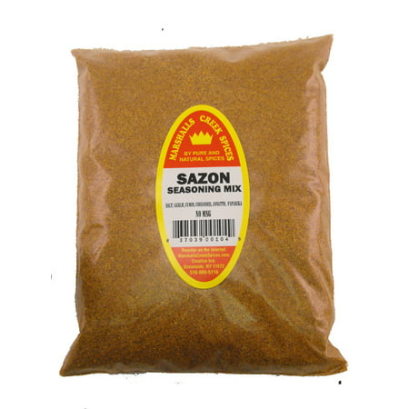 Marshalls Creek Spices 3 pack SAZON SEASONING, WITH ANNATO REFILL
