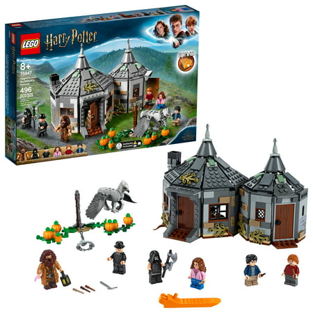 LEGO Harry Potter Hagrid's Hut: Buckbeak's Rescue 75947 Building Toy from The Prisoner of Azkaban (496 Pieces)