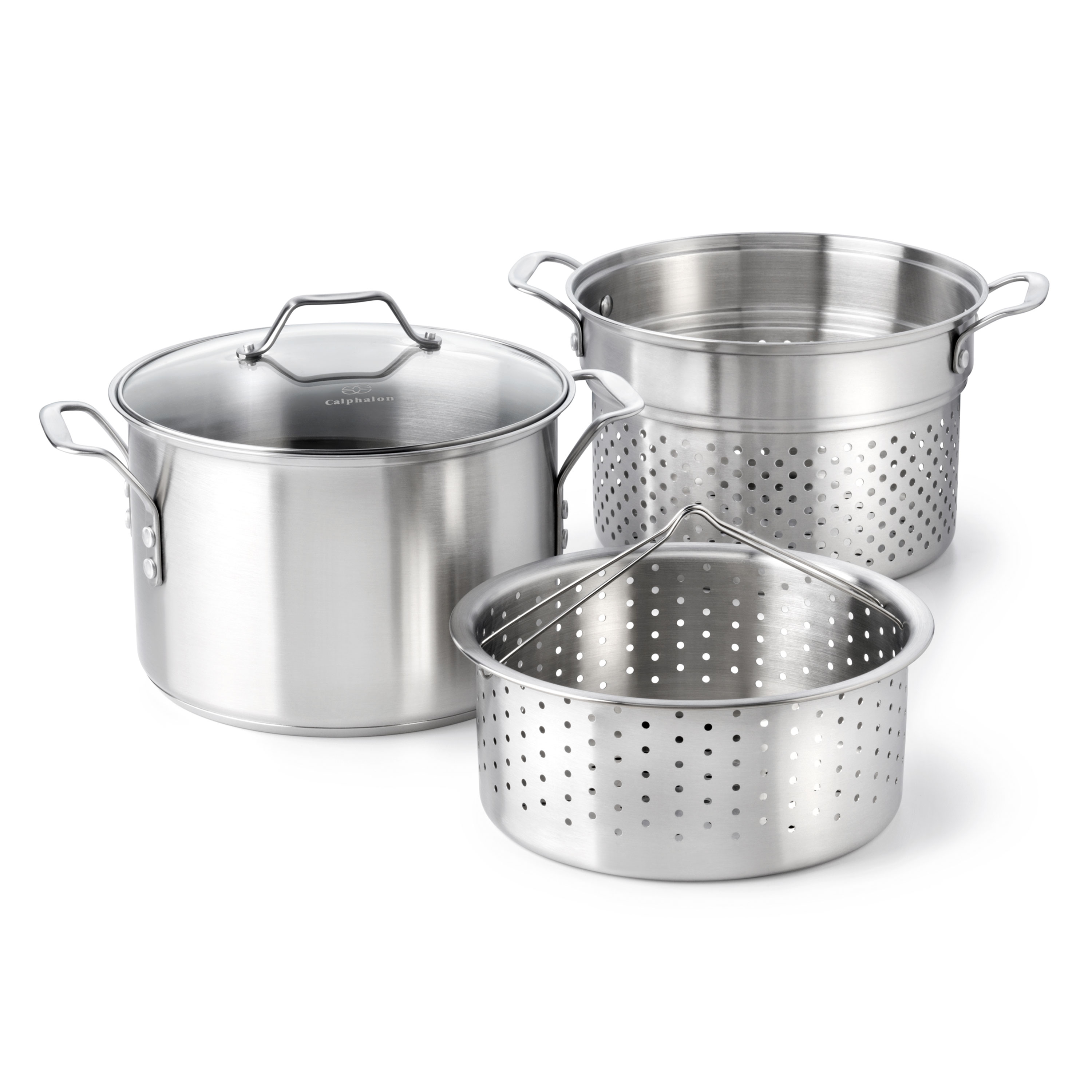 Calphalon Classic Stainless Steel 8-Quart Multi-Pot, VMP8P