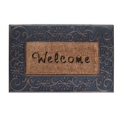 """First Impression A1 Home Large Hand Finished Coir Brush Welcome Mat 23"""" X 38"""""""