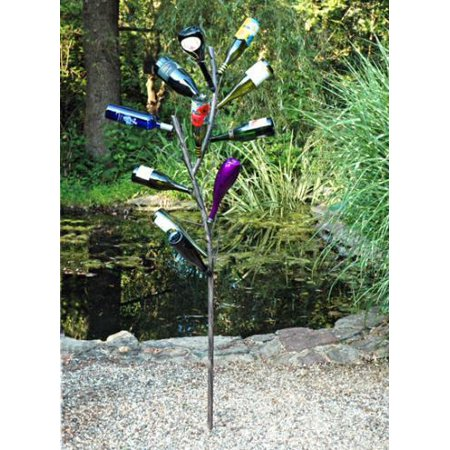 Brand New AM602A Fabulous fun bottle tree new design! One (Achla Designs Copper Stake)
