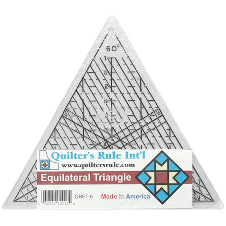 "Quilter's Equilateral Triangle Ruler-7-3/4"" - image 1 de 1"