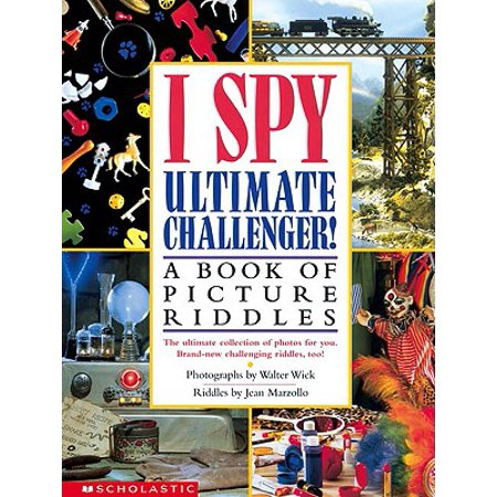 I Spy Ultimate Challenger : A Book of Picture Riddles](Halloween Childrens Riddles)