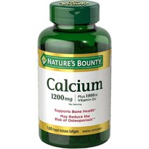 Vitamins & Supplements: Nature's Bounty Calcium