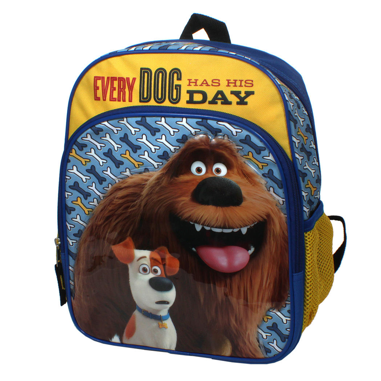 "Secret Life of Pets ""Every Dog Has His Day"" 12-inch Kids School Backpack Bag"