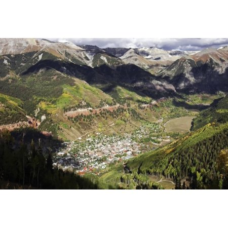 Telluride Historic Ski Town High in the Rocky Mountains, Colorado Print Wall Art By Susan