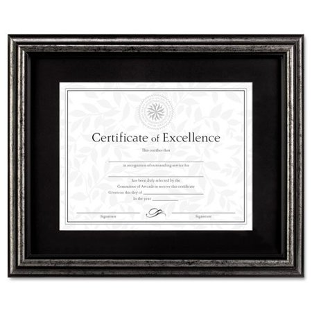 Dax Brushed Charcoal Document Frame - 14\